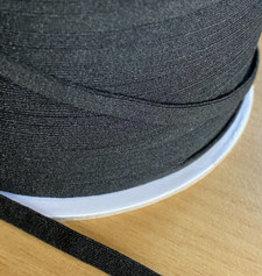 zwart mondkapjes elastiek 5mm (per m)