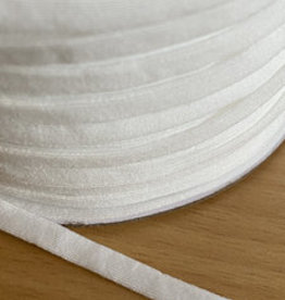 wit mondkapjes elastiek 5mm (per m)