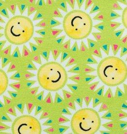 Sun & lemon kiwi green