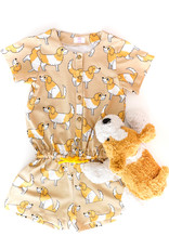 Eva Mouton Doggy beige cotton jersey