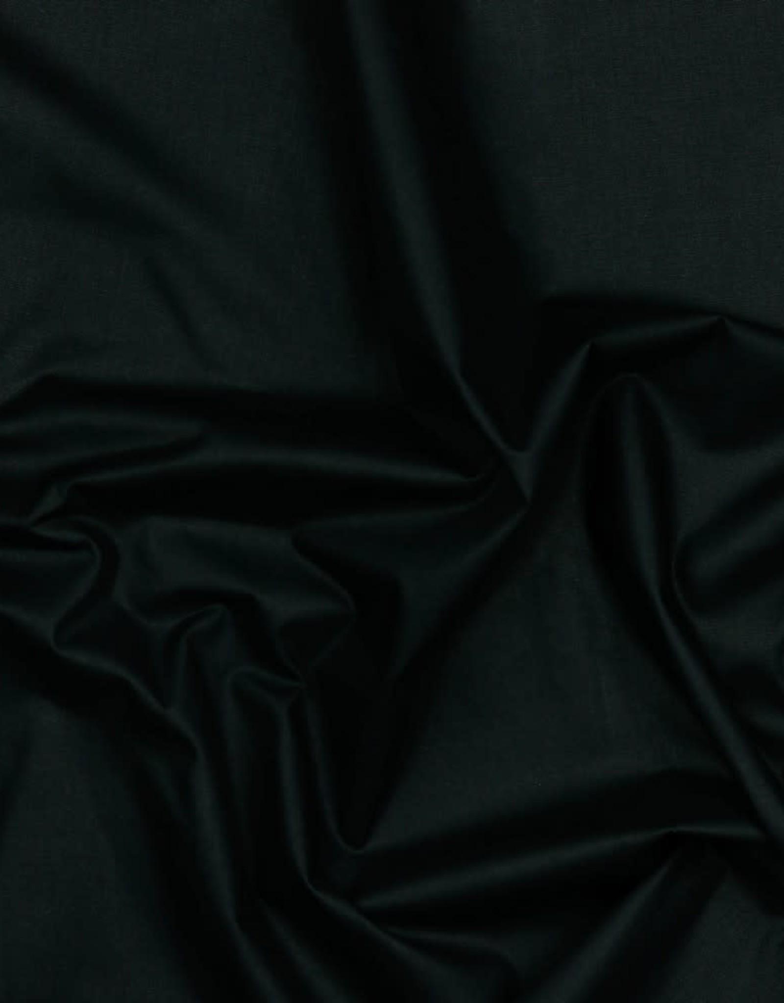 Poplin GOTS black