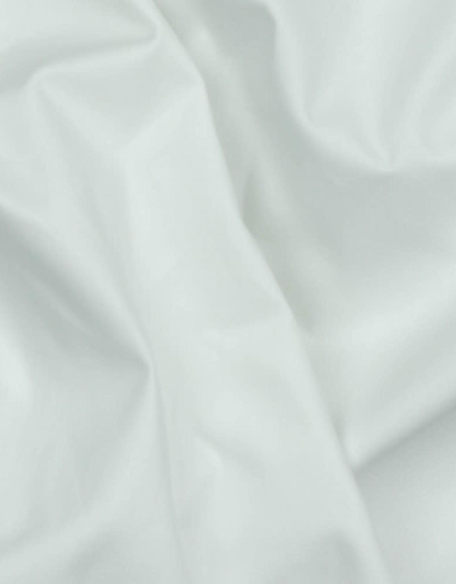 Poplin GOTS white