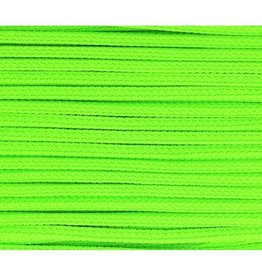 vierkant koord fluo groen 5mm
