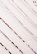 Fibre Mood FM Mae white red stripes