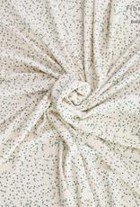 Fibre Mood FM Lou towel beige green leaves