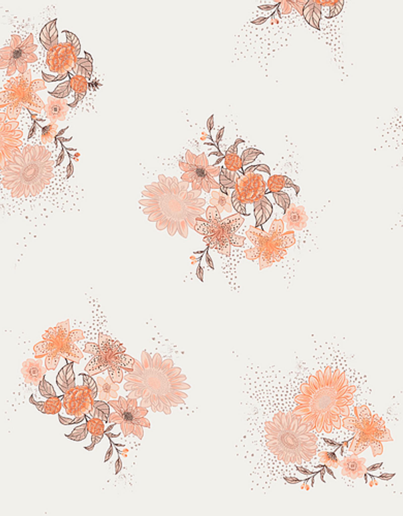 Bohélie fabrics Peachy paradise