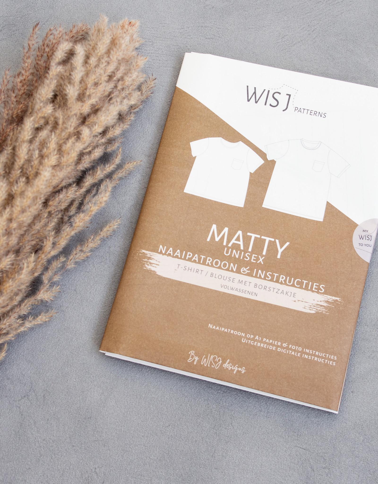 WISJ Designs Patroon Matty shirt