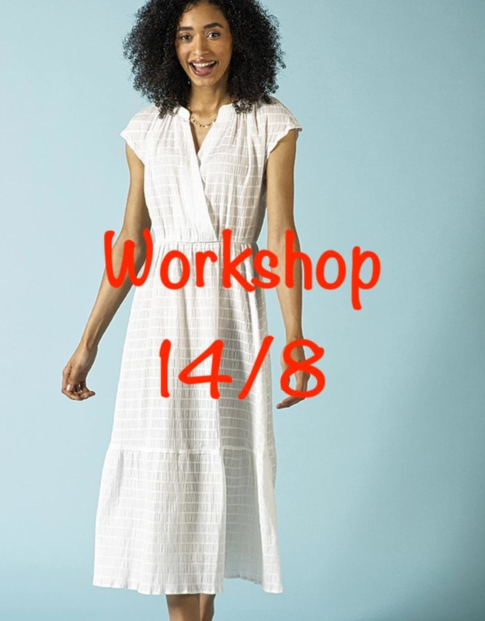Workshop Crisa jurk 14/8