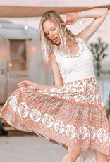 Bohélie fabrics Bohemian summer khaki
