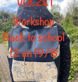 Workshop Jack rugzak 12 en 19/8