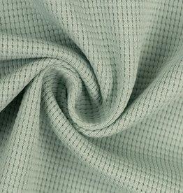 Wafel jersey mint