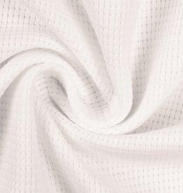 Wafel jersey off white