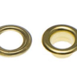 Nestels 5mm goudkleurig staal