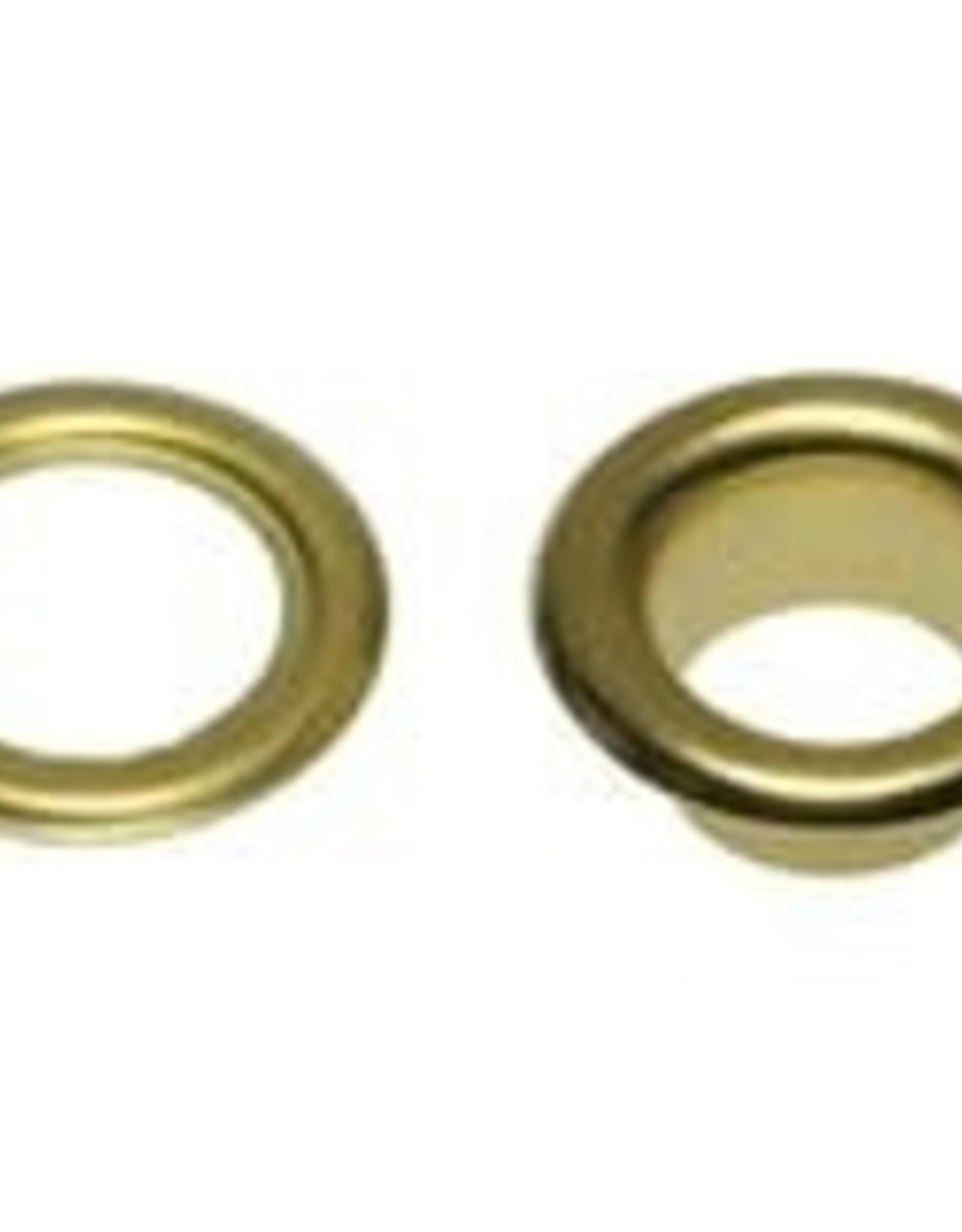 Nestels 8mm goudkleurig staal
