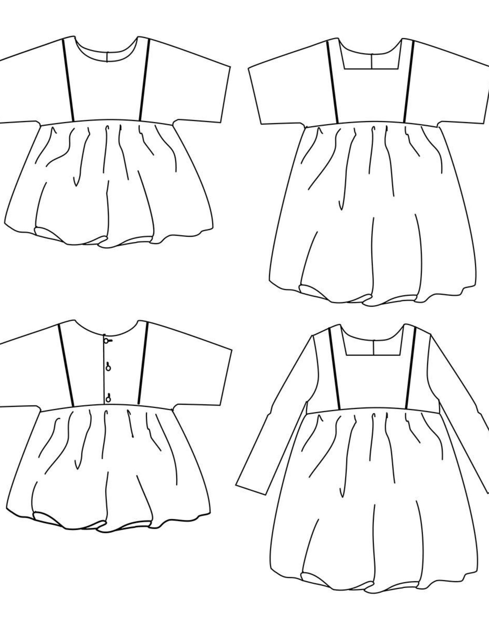 Ikatee Sakura kids blouse/dress