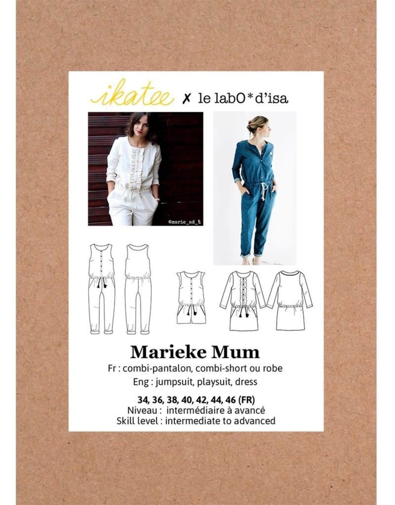 Ikatee Marieke mum jumpsuit, playsuit and dress