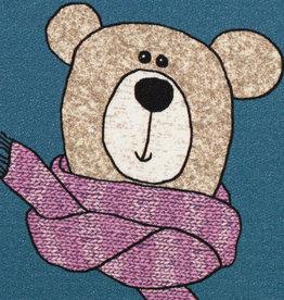 Sweet bears beige/denim blue beertjes