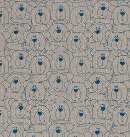 Sweet bears beige/denim blue