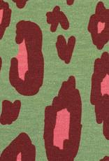 Luipaardvlekken lichtgroen