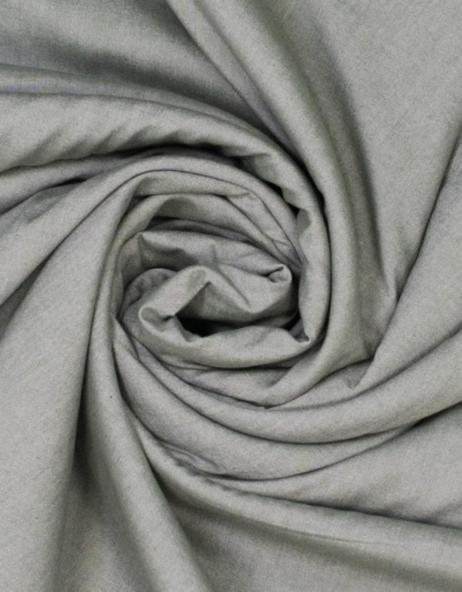 Hemdenstof grijs