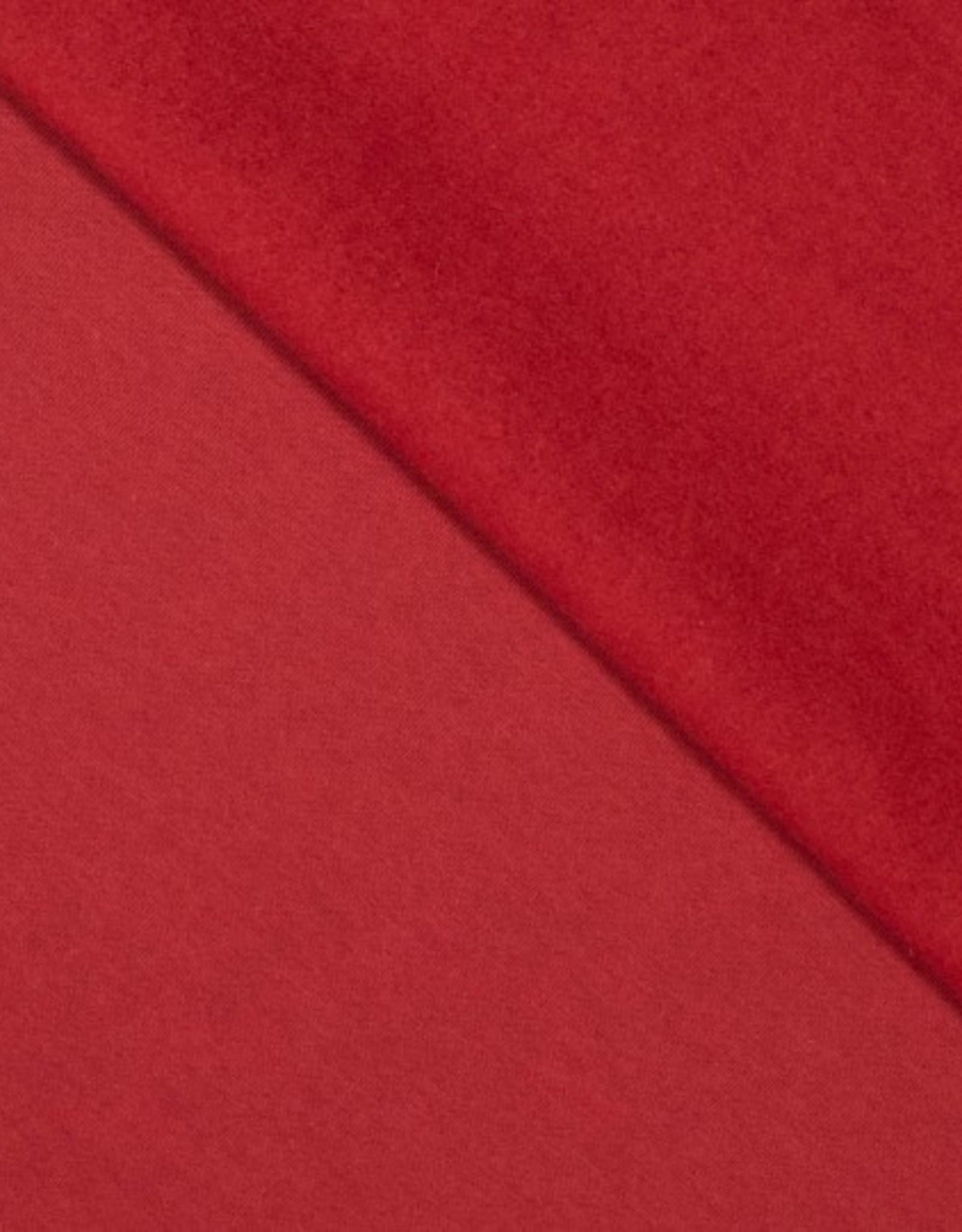 Jogging brushed rood