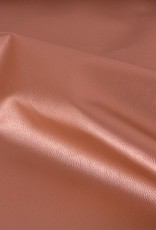 faux leather metallic terracotta