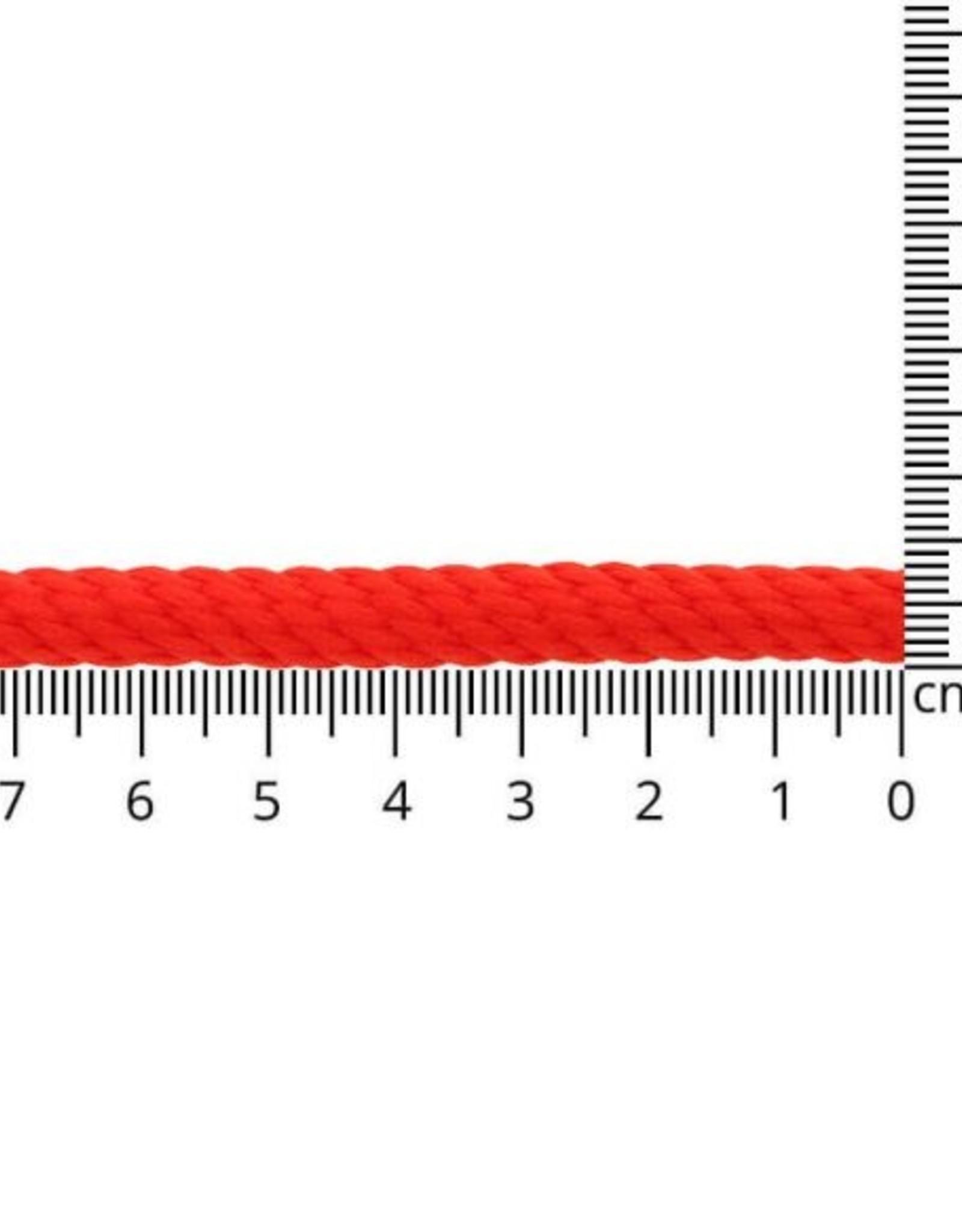 Koord 8mm kl722 rood