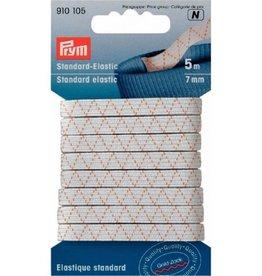Prym standaard elastiek 7mm wit