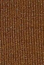 Gebreid met lurex bruin