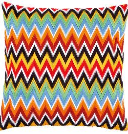 Spansteekkussen kit Zigzag