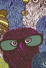 Jogging brushed owls