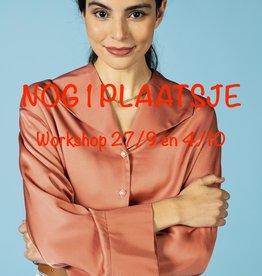 Workshop: Elise blouse 27/9 en 4/10