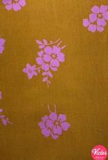 LMV babyrib roze bloemen