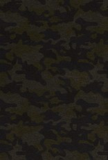 Punta di roma camouflage olijfgroen