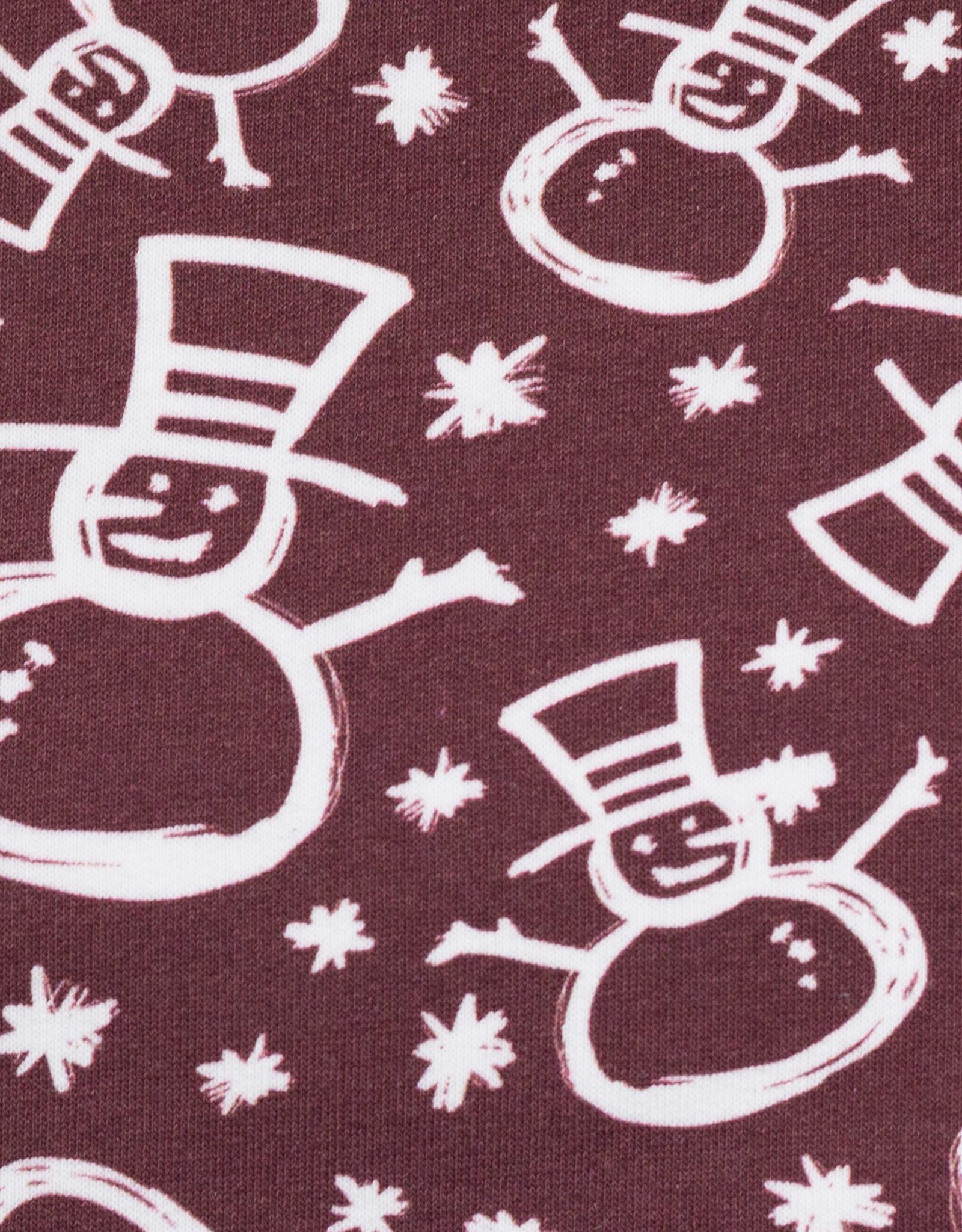 Jogging snowman