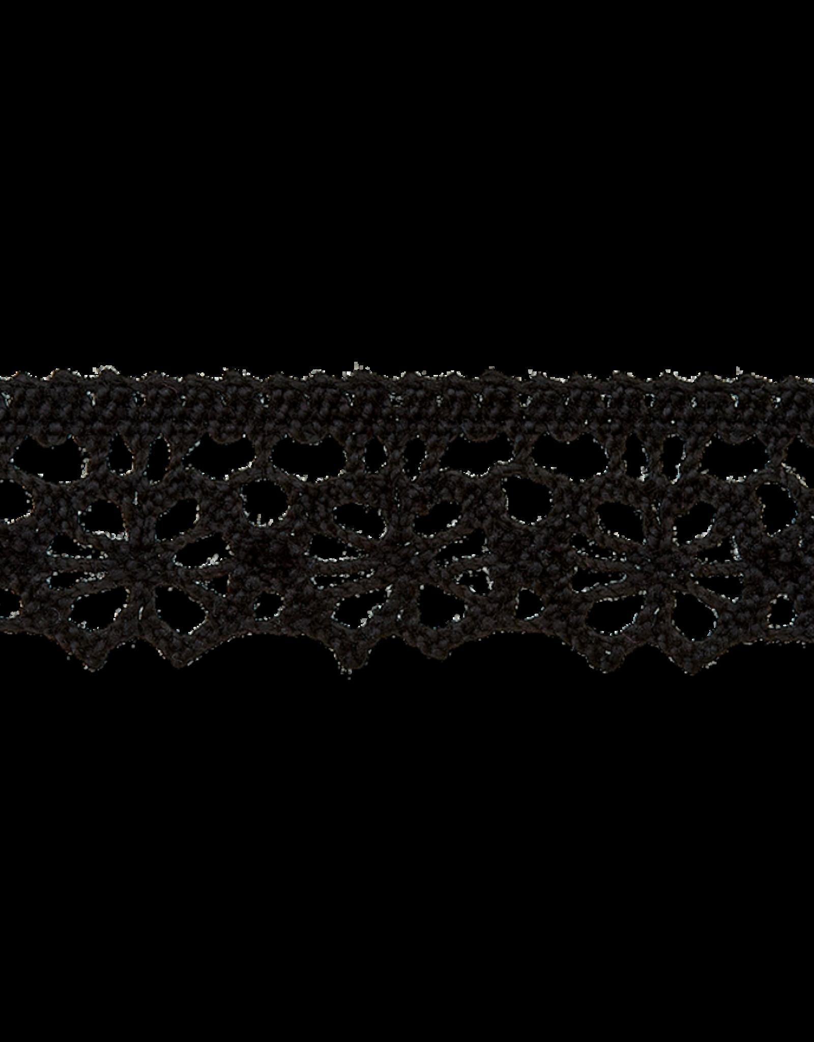 Kant zwart 16mm