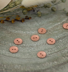 SYAS Knoop 10mm metal texture rosé