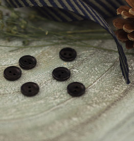 SYAS Knoop 12mm corozo zwart