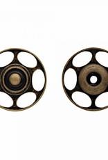 aannaaidrukknopen voor wol 25mm oudmessing (per 2)