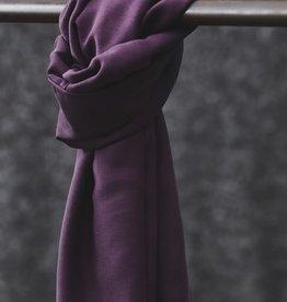 Mind the Maker Smooth drape twill purple night