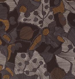 Viscosetricot grijs abstract