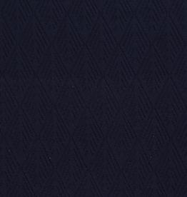 Jacquard donkerblauw