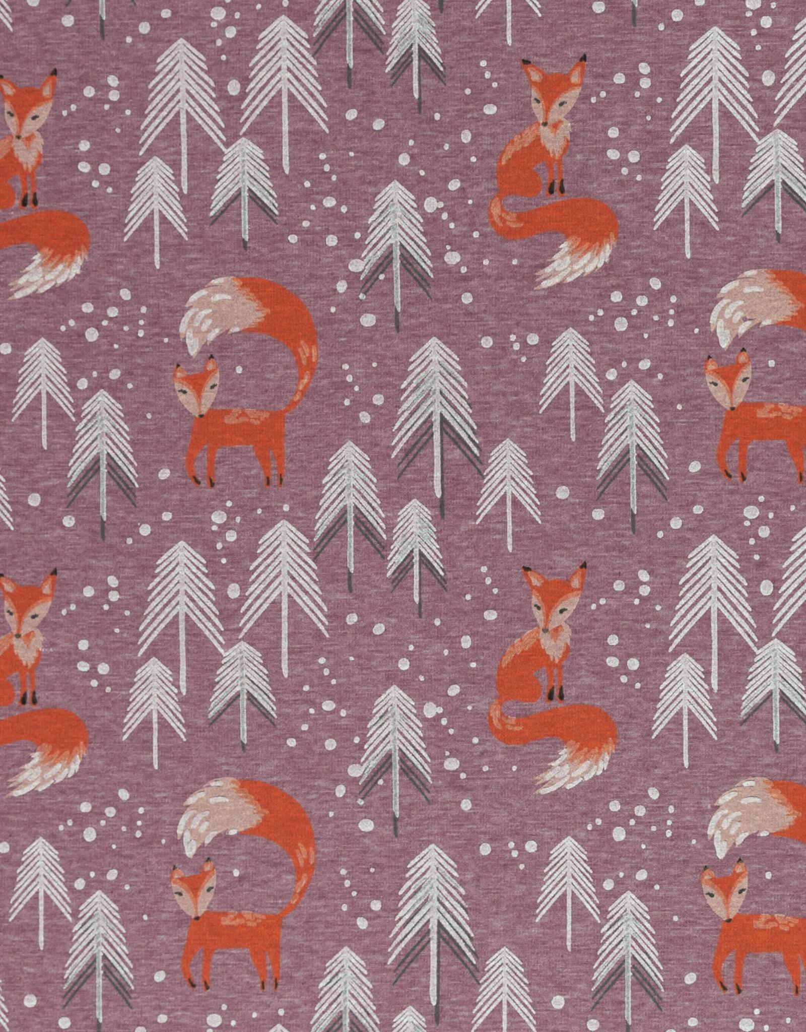 Alpen fleece foxes pink