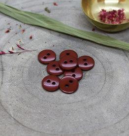 Atelier Brunette Classic shine buttons Rust 12mm