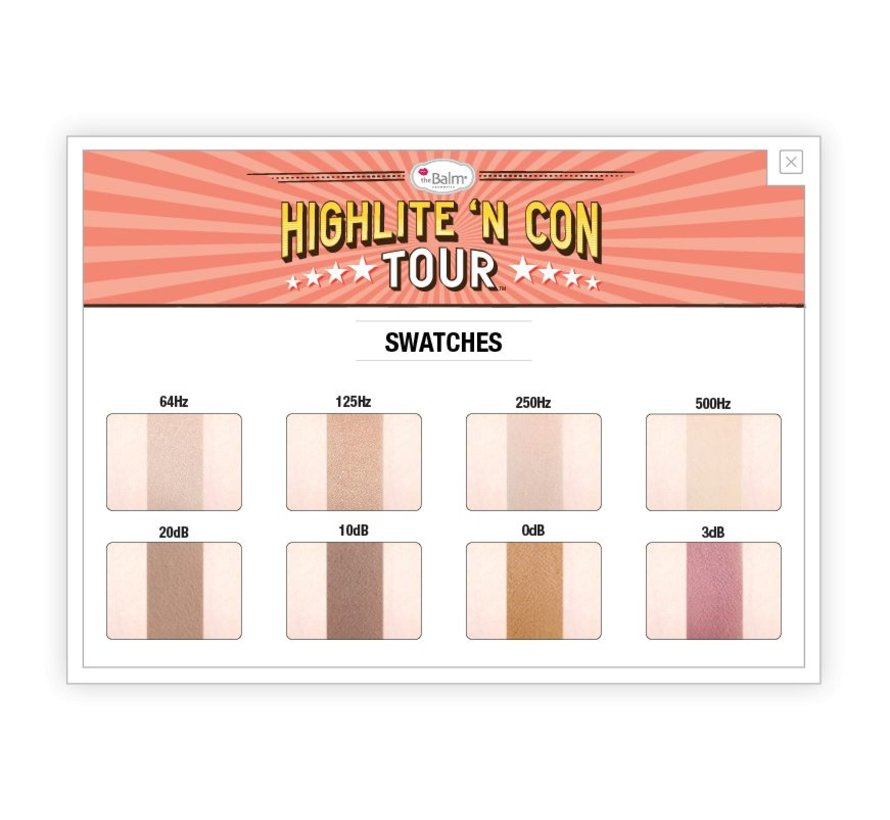 Highlite 'N Con Tour - Highlight & Contour Palette