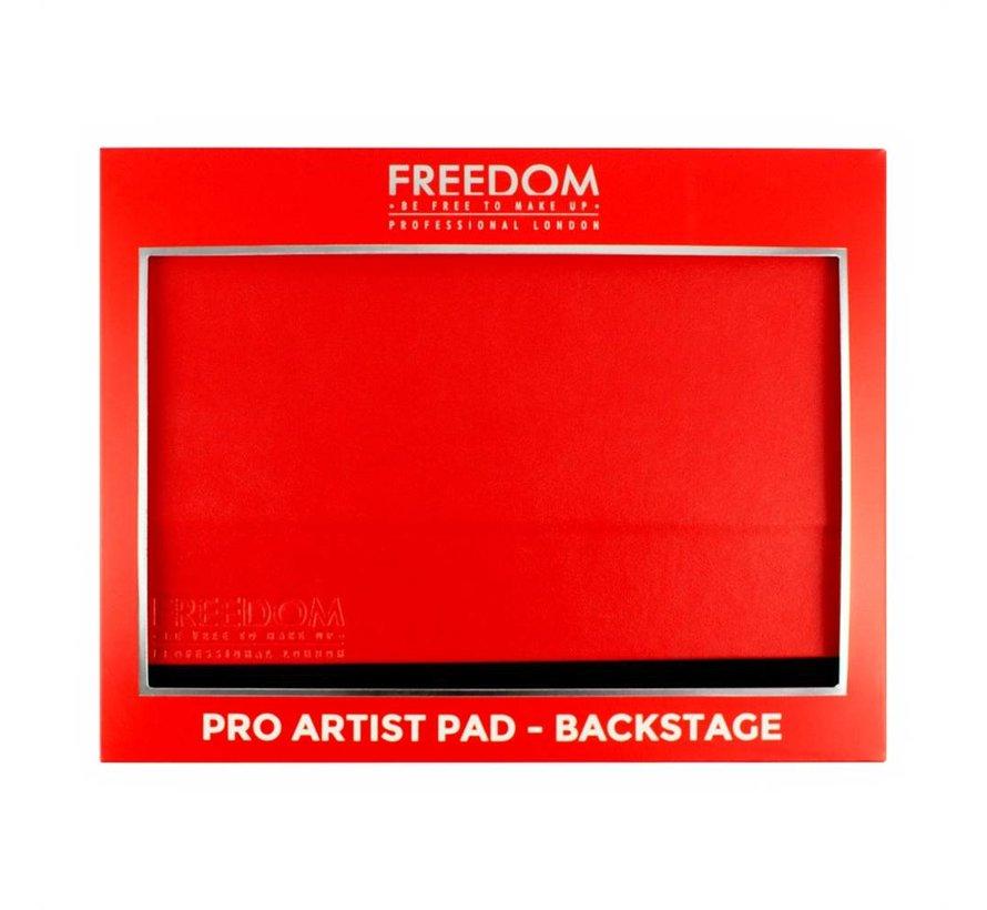 Pro Artist Pad - Backstage Red