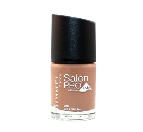 Rimmel London Salon Pro - 708 Get A Nail Tan - Nagellak