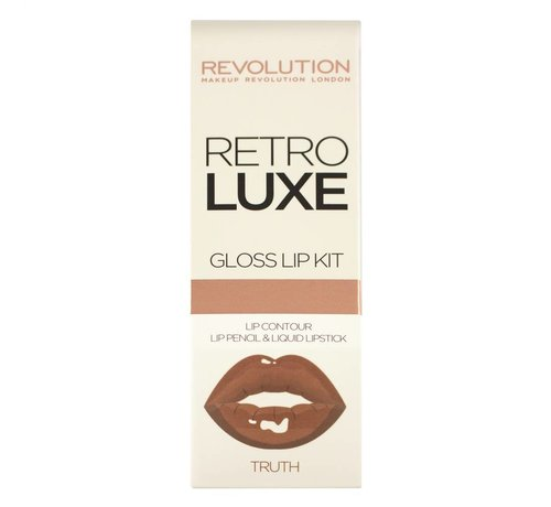 Makeup Revolution Retro Luxe Kits Gloss - Truth