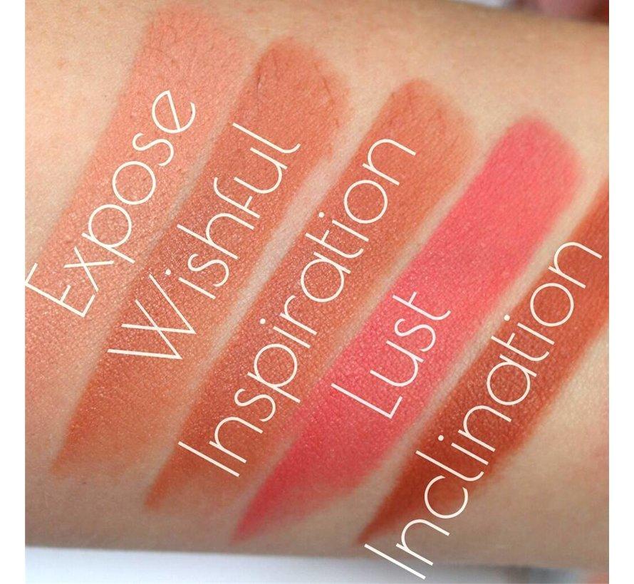 Iconic Matte Nude Revolution Lipstick - Inclination