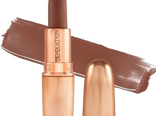 Makeup Revolution Iconic Matte Nude Revolution Lipstick - Inspiration
